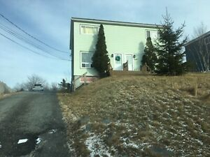 3 bedroom 3 floor duplex with big yard
