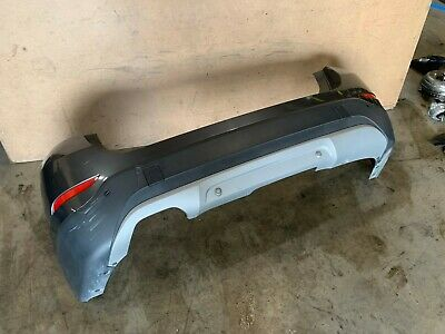 BMW 12-15 E84 X1 REAR BUMPER COVER PANEL W/ PDC ASSEMBLY MINERAL GRAY OEM 55K