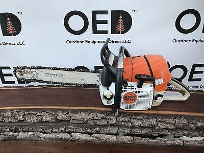 """Stihl MS461 Magnum Gas Powered 76.5cc Chainsaw - SOLID RUNNING - 18"""" SHIPS FAST!"""