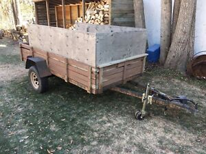 5x10 Utility Trailer with new axel