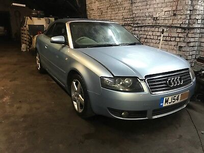 Audi A4 25 tdi Cabrio Convertible Blue paint LY5S  breaking BDG HEN