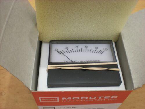 Modutec 916069001 0-1.0 DC Milliamperes Panel Meter NOS 2MASDMA001C9NSU Milliamp