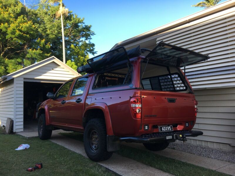 Colorado canopy | Auto Body parts | Gumtree Australia Ipswich City - Ipswich | 1176497579 & Colorado canopy | Auto Body parts | Gumtree Australia Ipswich City ...