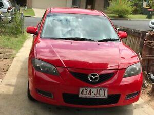 2007 Mazda3  BK MY06 RED