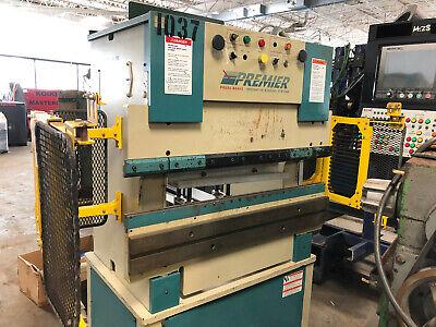 25 Ton X 4 Premier Hydraulic Press Brake - Fabricating Machinery