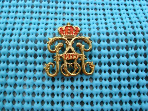 1973 Krewe of REX  Ladies pin