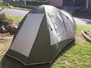 Oztrail Tasman 4V dome tent Narangba Caboolture Area Preview