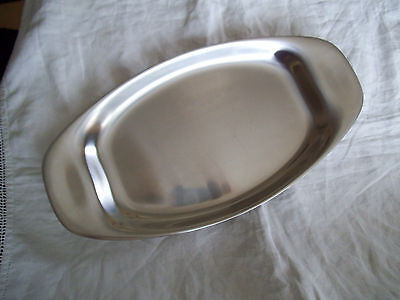 BOXED WMF CROMARGAN STAINLESS STEEL 18/8 SERVING PLATTER