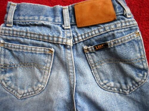 20x20 7 Slim true Vtg 80s Boys LEE BOOTCUT FLARE DENIM RELIC HIPPY JEANS USA