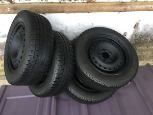 MAZDA 3 MICHELIN WINTER TIRES RIMS 195 65 15