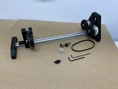 Kit - Co2 Laser Adjustable Rotary Engraver Cutter Attachment No Stepper Motor