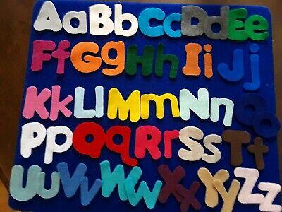 Alphabet Letters Felt set for the Story - Felt Boards