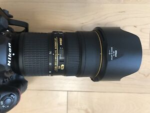 Nikon 24-70  VR  2.8E ED