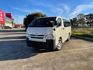 2017 Toyota Hiace LWB 2LITRE Petrol White Auto Van Thomastown Whittlesea Area Preview