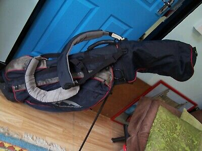 Gents Golf Set.Jack Nicklaus Irons and Woods.Sun Mountain Golf bag with stand.