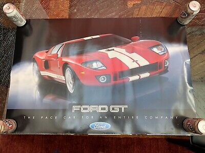 FORD GT 2005/2006 POSTER BY FORD MOTOR COMPANY DOU