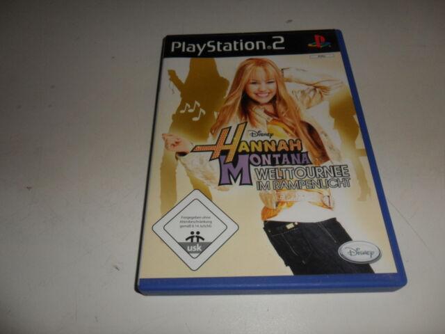 PlayStation 2  PS 2  Hannah Montana - Welttournee im Rampenlicht