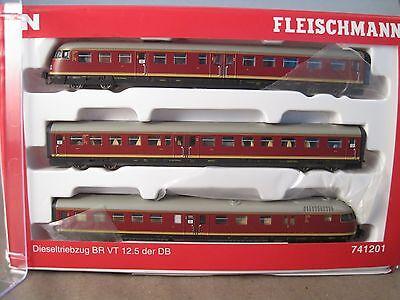 Fleischmann N 741201 VT 12.5   DCC digital KühnN025  kaum gefahren online kaufen