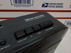 Sony Dream Machine AM FM Clock Radio & Working Cassette Model ICF-C610