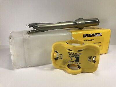 Kennametal Ktip0709r5scf075 Kentip Drill Body Scf 5xd .709 Dia New
