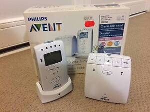 avent baby monitor gumtree australia free local classifieds. Black Bedroom Furniture Sets. Home Design Ideas