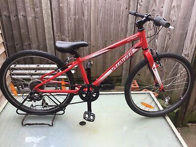 "Specialized Hotrock 24"" Wheel Alloy Frame Boys Hybrid Bike Ref 3010e"