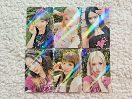 Stayc Stereotype Official Makestar 1 Exclusive Holo Photocards
