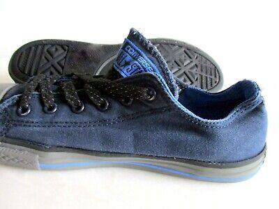 size 5M Converse Womans Denim Blue Tennis Shoe All Star - Blue Denim Tennis Shoe