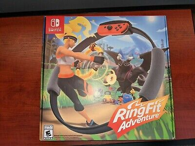 Ring Fit Adventure -- All Equipment -- Excellent Condition -- Free Shipping