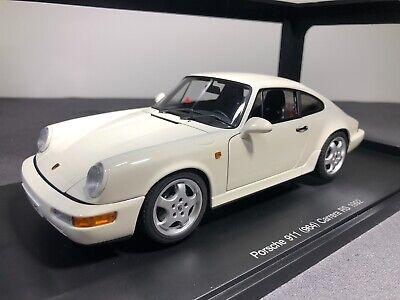 AUTOart 1:18 Porsche 911 (964) Carrera RS 1992 - White - BRAND NEW * RARE *