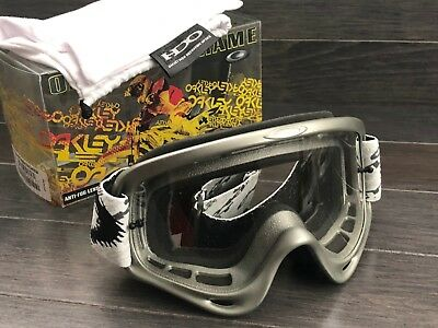 OAKLEY - GOGGLES -O FRAME  MX SIGNATURE:  RICKY CARMICHAEL - Brand New In (Oakley Signature Goggles)