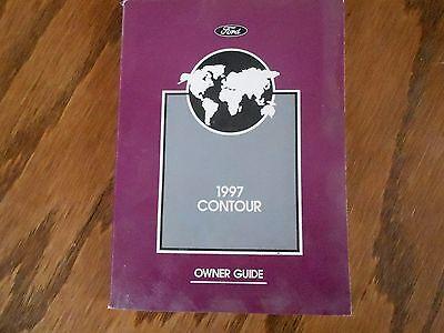 97 Contour Owners Operators Manual