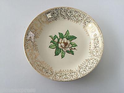 Stetson China CAMILLE Gold Filigree, White Flower Center - 8