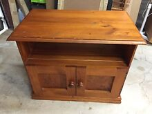 TV cabinet hand made of timber Mortdale Hurstville Area Preview