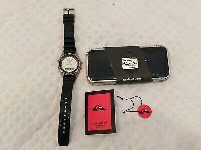 Quicksilver Vintage 1990's Watch w/ Original Tin Case QS2700W