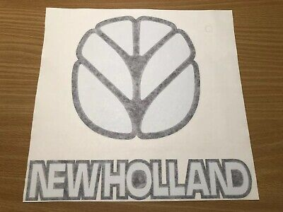 New Holland Agriculture Sticker 10 Utility Tractor Tc35 Tc45 Tc30 Loader