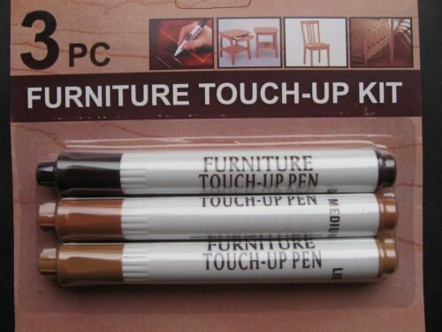 NEW 3Pk Furniture Touch Up Wood Scratch Fix