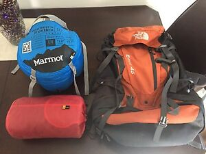 Hiking gear, great as a package for day/weekend adventures