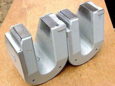 Pair Of Powerful Alnico 5 Horseshoe Magnets 11 Lb 8 Oz Total Nos Pre- Neodymium