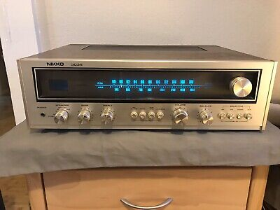 Nikko 3035 Vintage Stereo Receiver Tested Works Very Good Shape