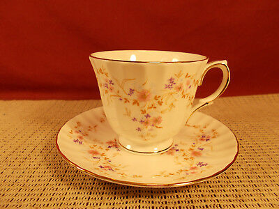 Duchess Fine China England Spinney Pattern Cup & Saucer Set