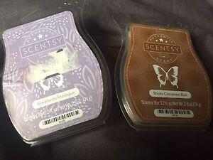 New scentsy bars