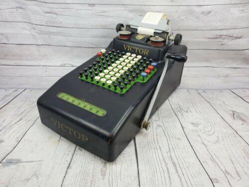 Antique Victor Adding Machine Cash Register 1920s