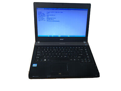 "Acer TravelMate P643-M-6894 14"" Laptop Core i5 3230M 8 GB RAM No HDD"