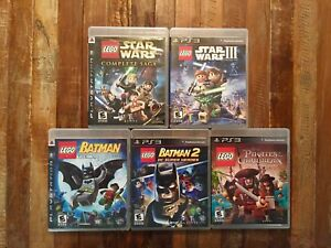 JEUX LEGO PS3 SUPER DEAL!!! PS3 LEGO GAMES GREAT DEAL!!!