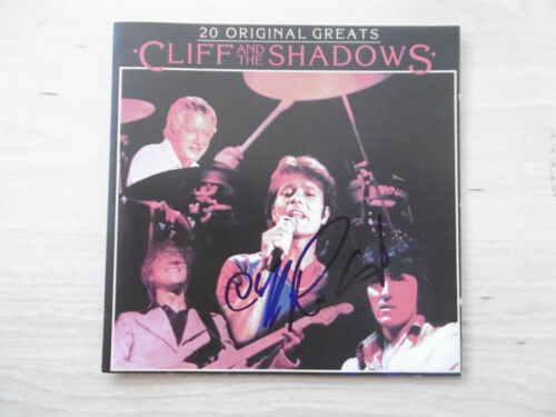 "Cliff Richard Autogramm signed CD Booklet ""Cliff And The Shadows - 20 O. Greats"""