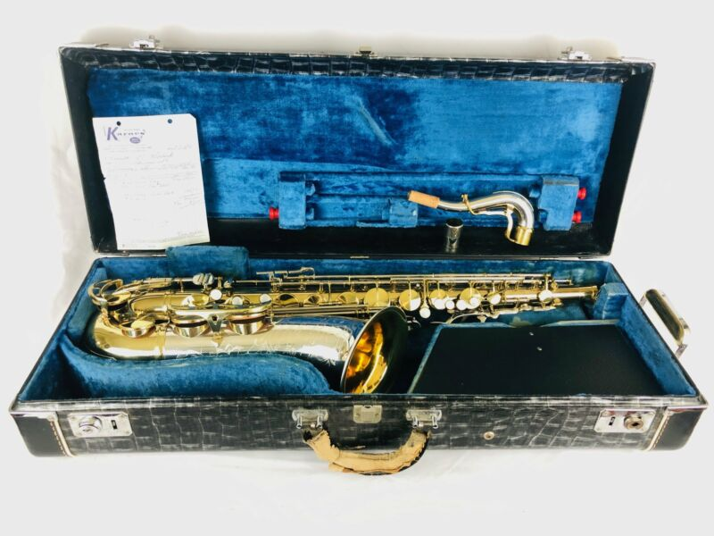 King Super 20 Silver Sonic Cleveland Tenor Saxophone