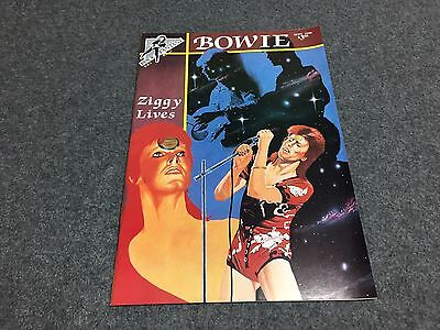 DAVID BOWIE ROCK N Roll Vintage comic book from 1990