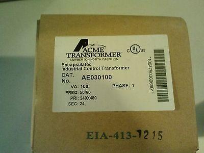 Brand New Acme Transformer Encapsulated Industrial Control Transformer Ae030100
