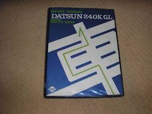 Factory Workshop Manual for Datsun 240K Wollongong Wollongong Area Preview